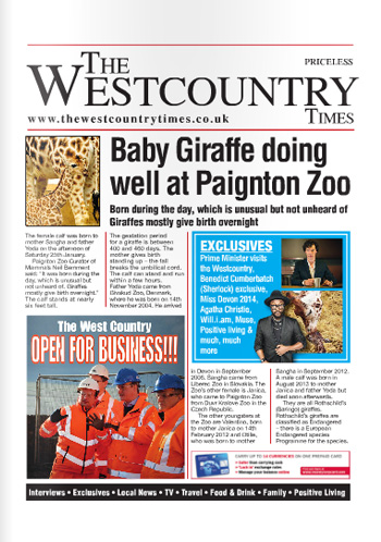 Westcountry Times – April 2014